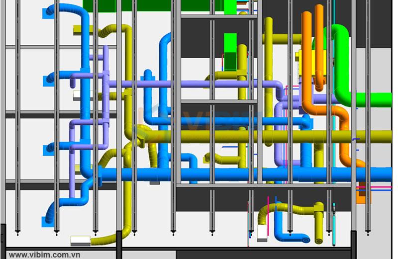 3D mechanical model LOD 300