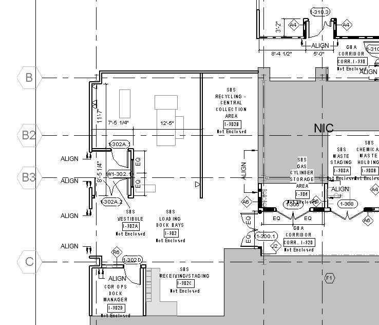 Architecture BIM drawing