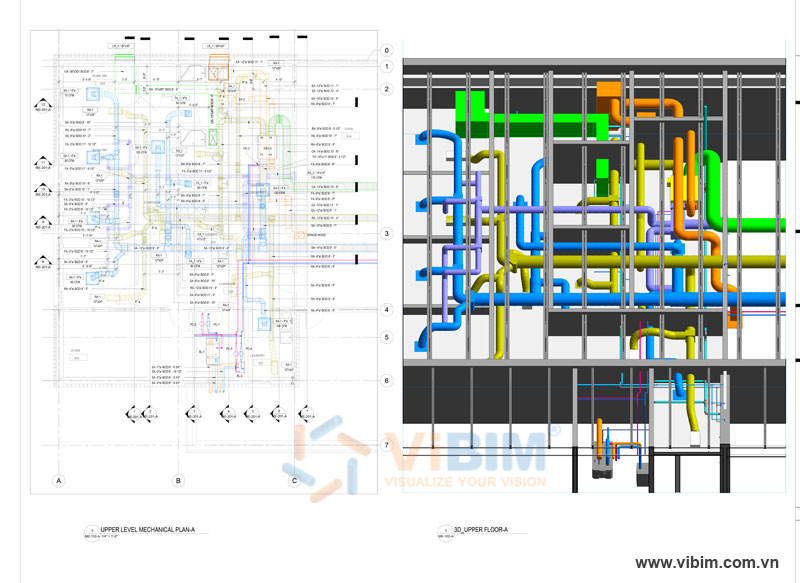 HVAC modeling from 2D CAD
