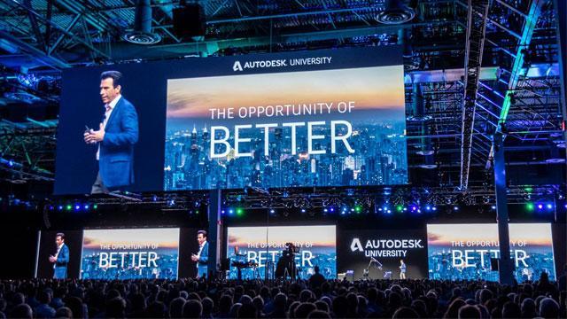 Infographic: Autodesk University 2018 - Las Vegas, USA
