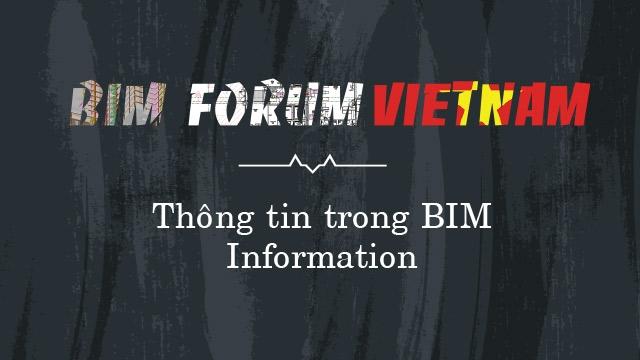 Thông tin trong BIM (Information)