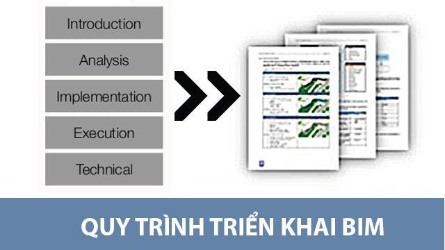 Quy trình triển khai BIM cho chủ đầu tư