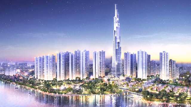 2016 Building of the Year with BIM. The Landmark 81